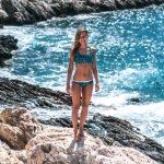 Bikinibroek omkeerbaar cactus Monique Rotteveel
