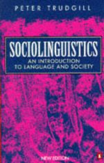 Sociolinguistics Peter Trudgill