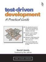 Test Driven Development David Astels