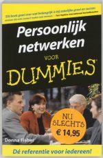 Voor Dummies - Persoonlijk netwerken voor Dummies D. Fisher