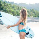 Bikini broek Eco Deep Jungle Blue Ocean Omkeerbaar