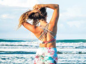 Pura Vida Bikini Top Eco Yoga Surf Zwemmen