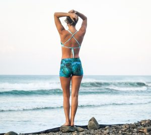 Triangel Bikini Top Eco Yoga Surf Zwemmen Omkeerbaar