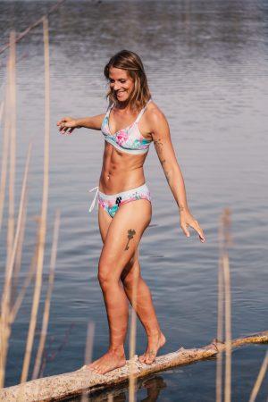 Triangel Bikini Top Eco Yoga Surf Zwemmen Omkeerbaar