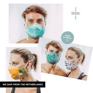 Mondmasker herbruikbaar wasbaar