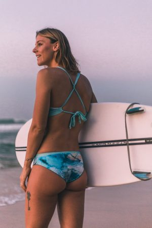 Bikini Broek Eco Yoga Surf Zwemmen Omkeerbaar