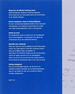 Basisvaardigheden Spelling Voor De Pabo 9789001800574