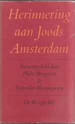 Herinnering aan Joods Amsterdam 9789023406259