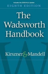 The Wadsworth Handbook 9781413030624