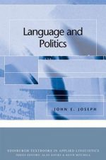 Language and Politics 9780748624539
