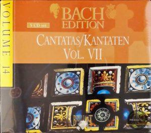 Bach edition - Vol 14: Cantatas Vol VII / Leusink et al 5028421993737