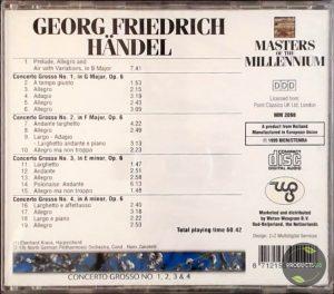 Concerto Grosso No.1-4 8712155051418