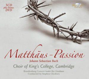 Matthaus Passion (Cd+Dvd) 5028421941264