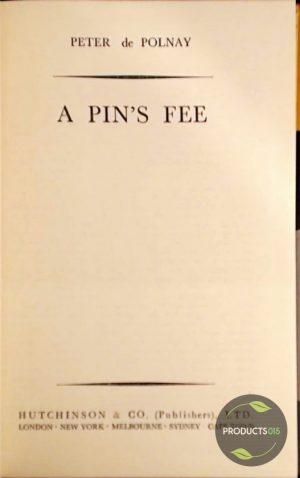 A Pin's Fee 7423631710743