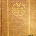 Webster's Dictionary of Synonyms 7423632055010