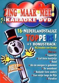 Zing Maar Mee Karaoke Dvd 12 8714069042995