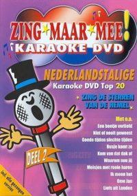 Zing Maar Mee Karaoke Dvd 2 8714069037489