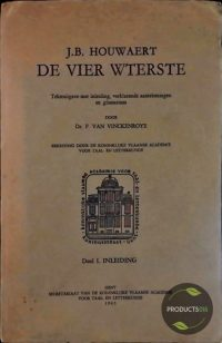 J.B. Houwaert De Vier Wterste (Deel I, II en III) 7423649723766