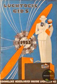 Ned. Indische Luchtreisgids 1933 7423639034087