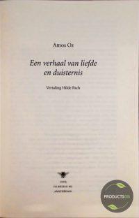 Verhaal Van Liefde En Duisternis 9789023417750