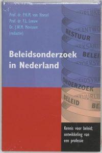 Beleidsonderzoek in Nederland 9789023241614