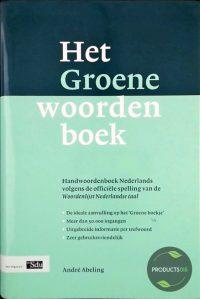 Het Groene Woordenboek 9789012093088