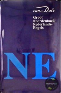 VAN DALE GROOT WDB NEDERLANDS-ENGELS 9789066481275