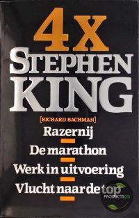 4 x Stephen King 9789024516117