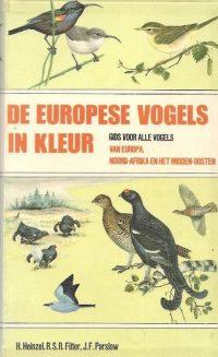 Europese vogels in kleur 9789010011268