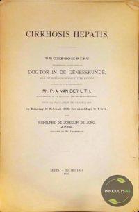 Cirrhosis Hepatis (proefschrift) 7423633246233
