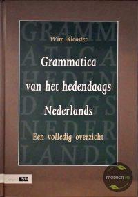 Grammatica Van Het Hedendaags Nederlands 9789012090247