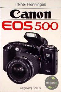 Canon eos 500 9789072216632