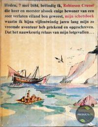 Schetsboek van robinson crusoe 9789021603759