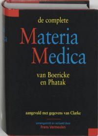 De Complete Materia Medica Van Boericke En Phatak 9789061208754