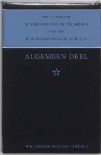 Asser-serie * - Algemeen deel 9789027109453